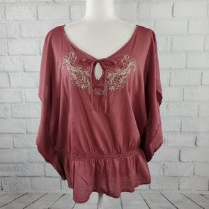Sonoma Life + Styles - wide sleeves flowy top